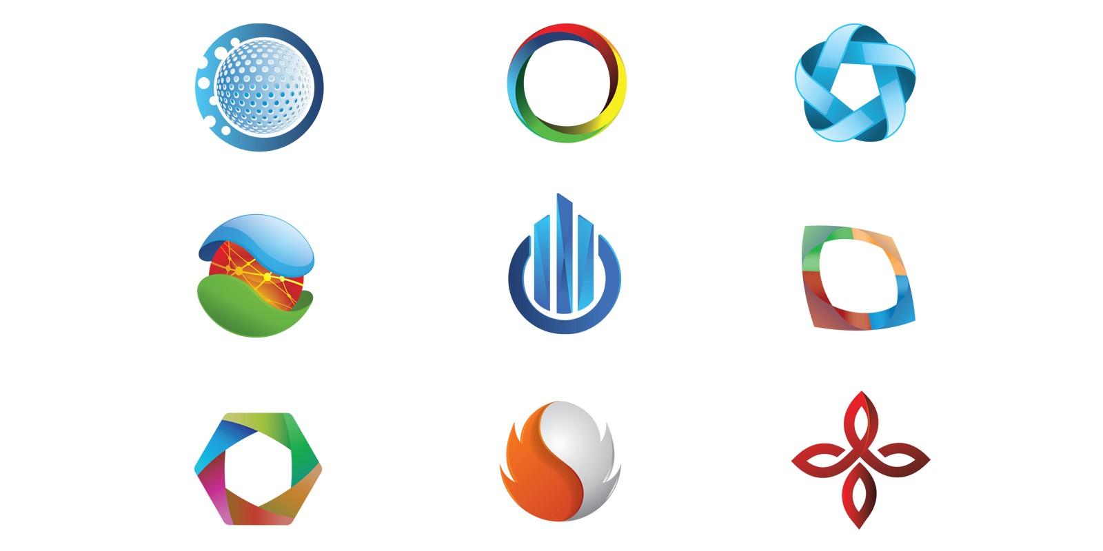 Rounded Circle design logo inspiration