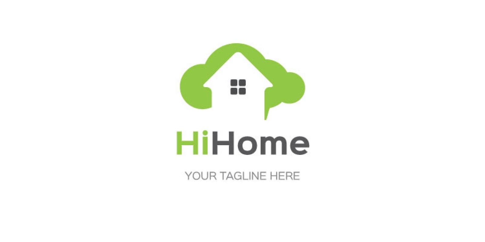 Cloud Home Logo Design