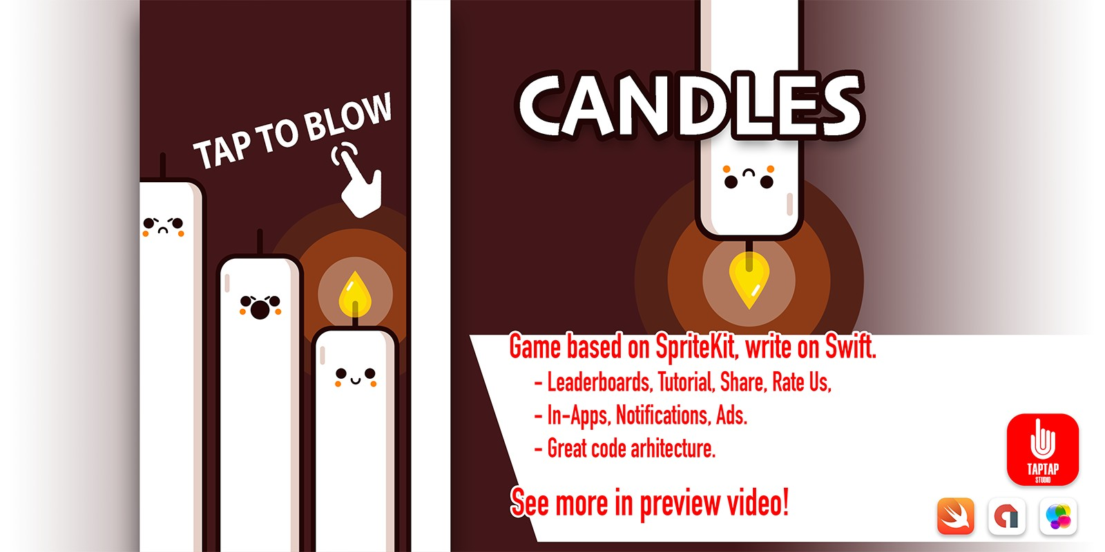 Candles - iOS Source Code