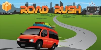 Road Rush - Full Buildbox Game
