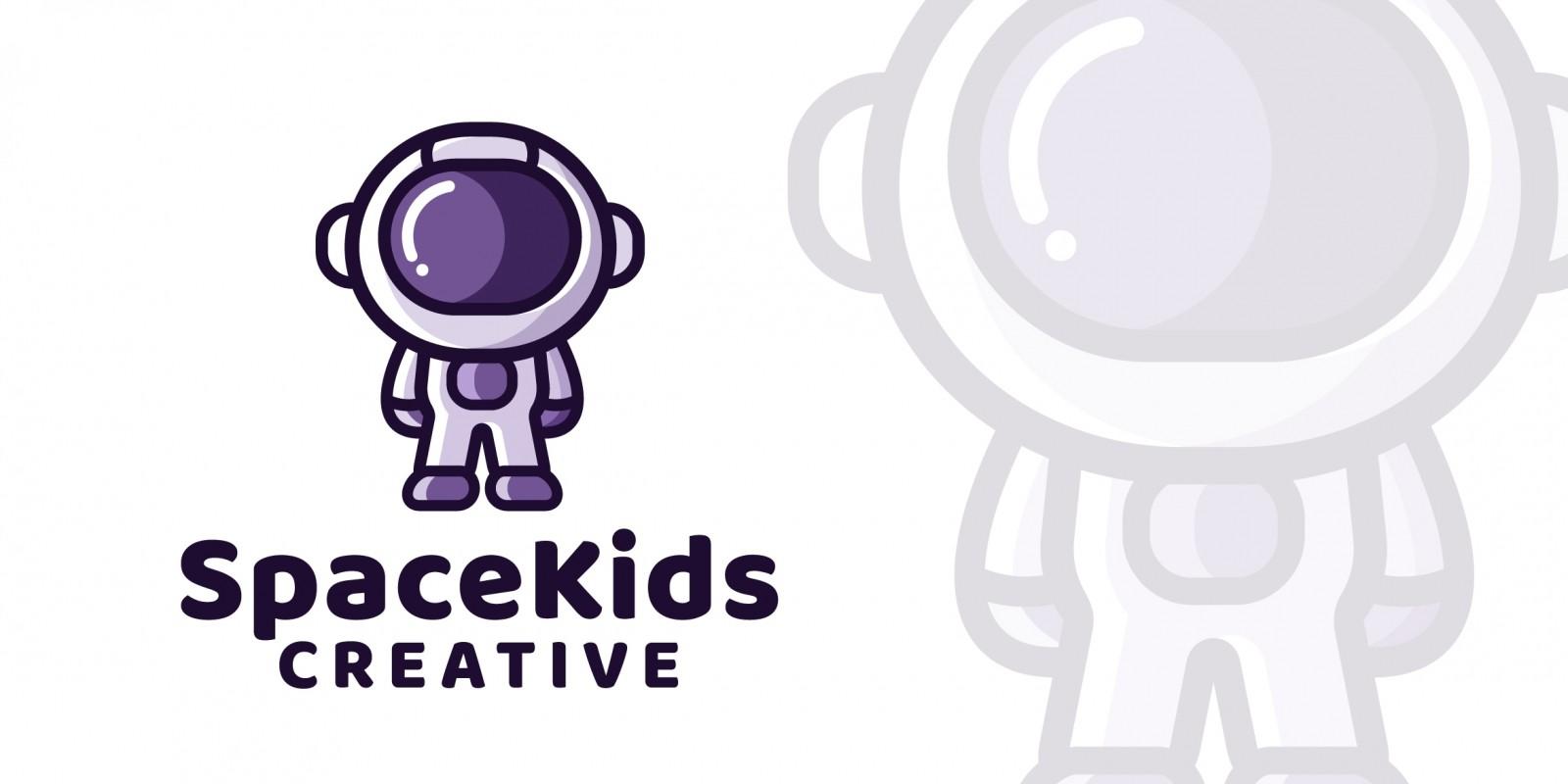 Space Kids - Logo Template