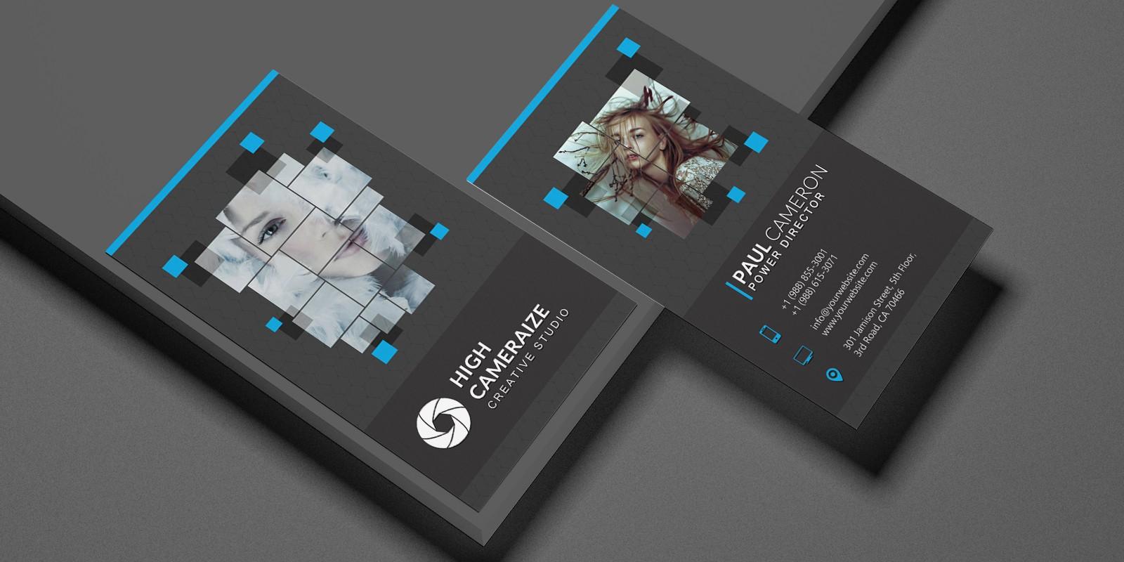 Studio Corporate Business Card