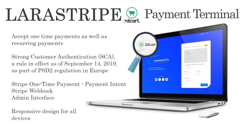 Larastripe - Payments Terminal Script