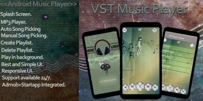 VST Music Player Pro - Android App Template