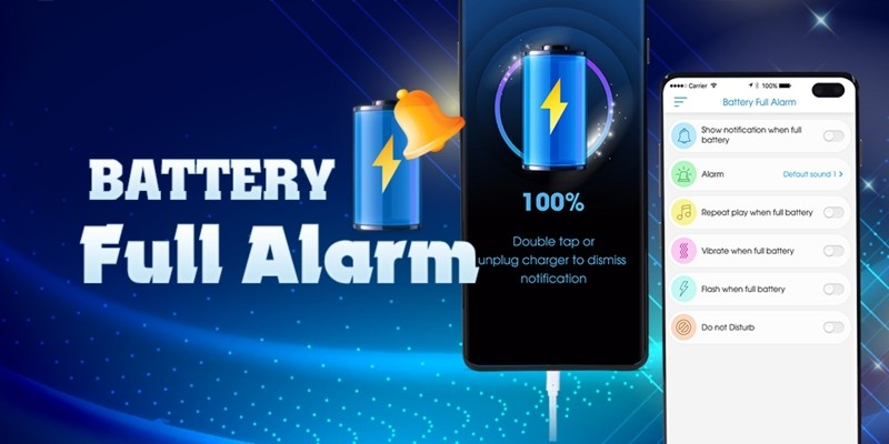 Battery Full Alarm - Android Source Code