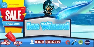 Ice Wizard Adventure - Template Buildbox
