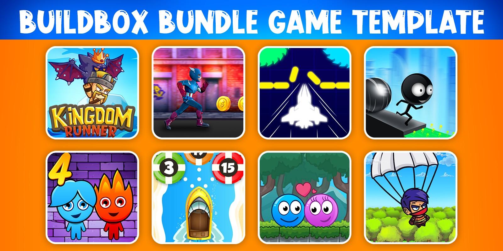 Bundle 8 Buildbox Game Template