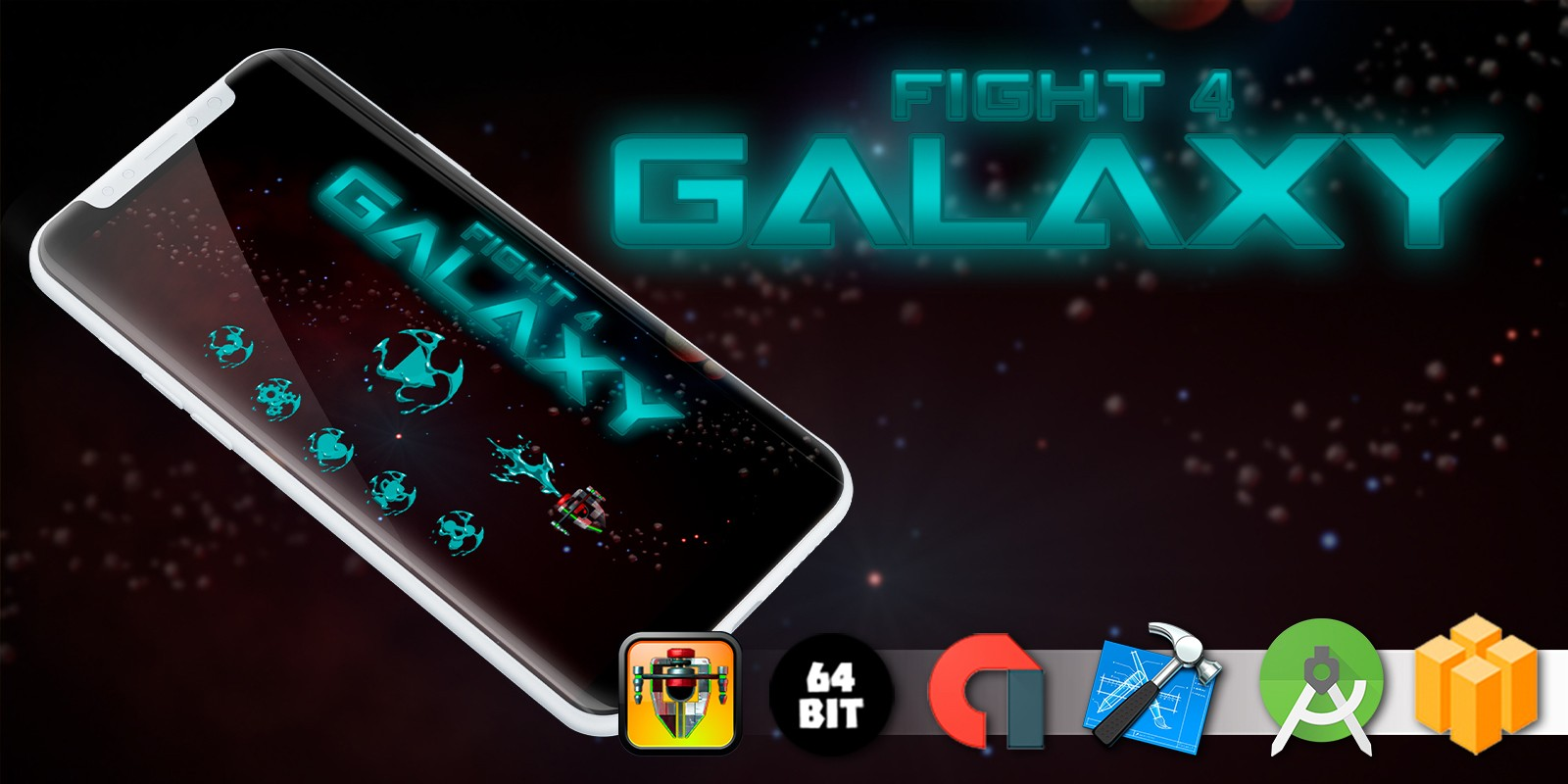Fight 4 Galaxy - Buildbox Template