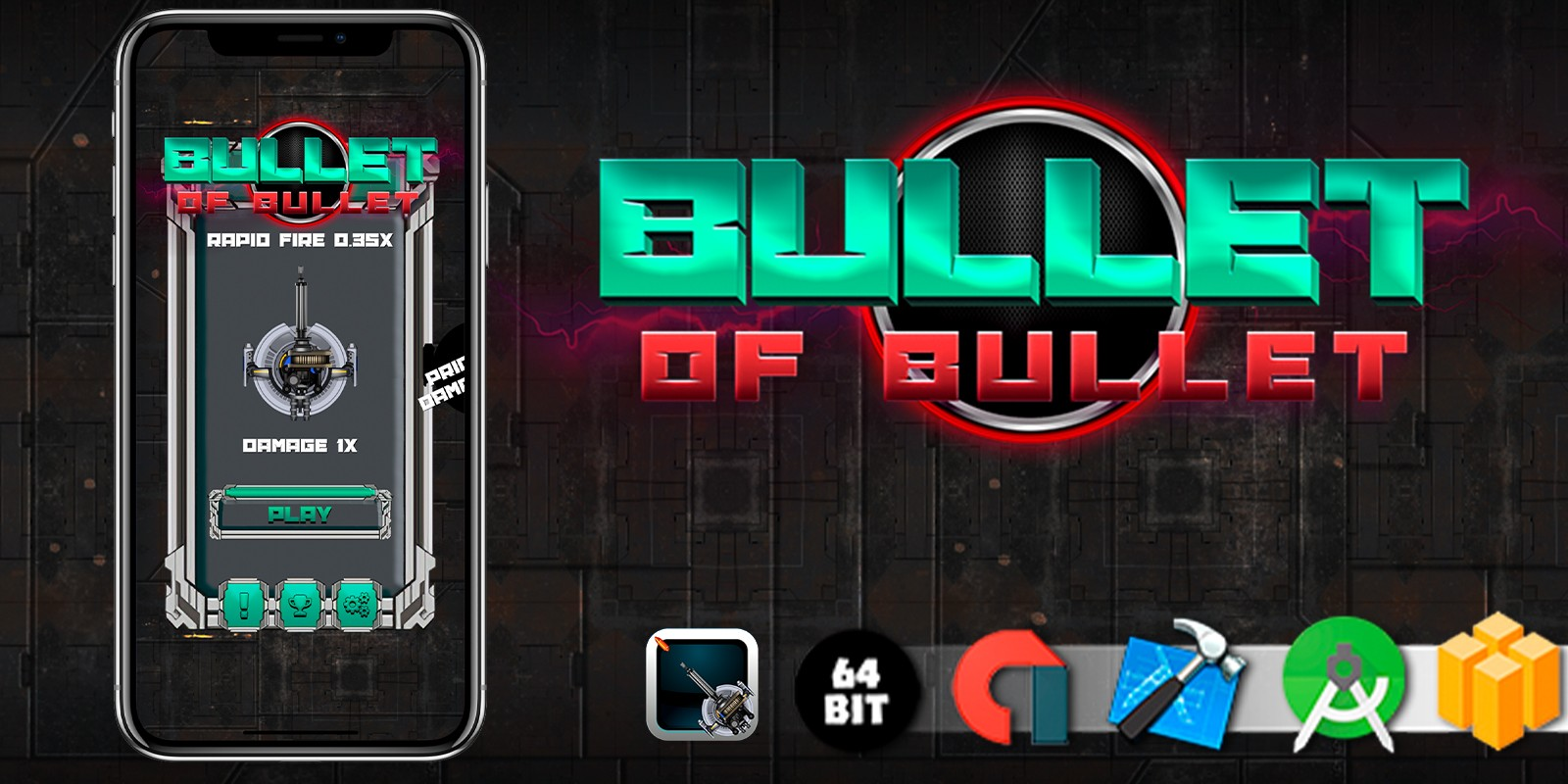 Bullet Of Bullet - Buildbox Template