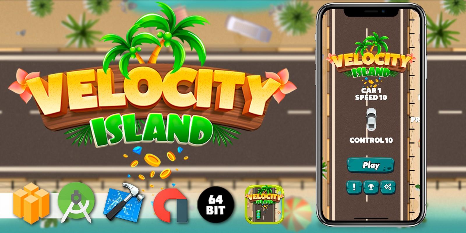 Velocity Island - Buildbox Template