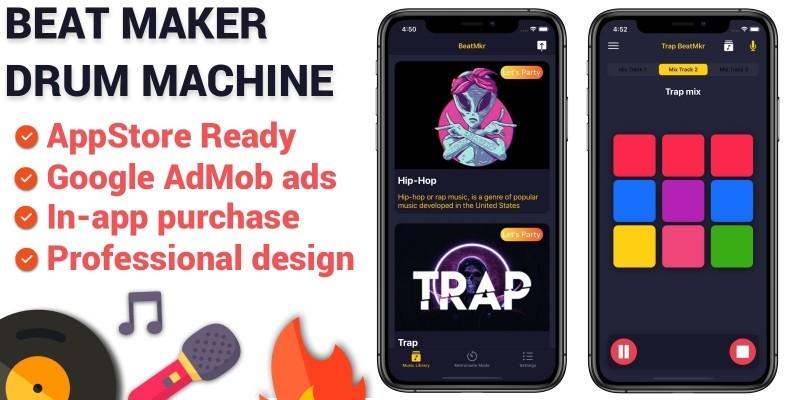 Beat Maker iOS App Source Code