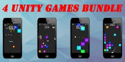4 Unity Games Bundle