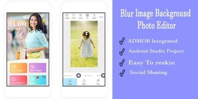Blur Background Image Editor - Android Source Code