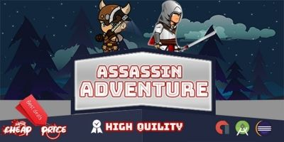 Assassin Adventure Game - Buildbox Template