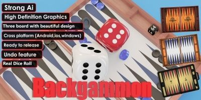Backgammon - Unity Complete Project