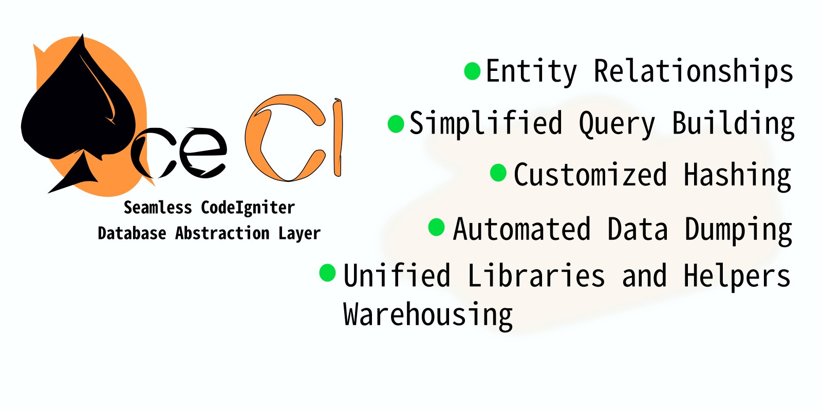 Ace CI - Seamless CodeIgniter Database Abstraction