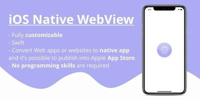 iOS Native WebView App Source Code
