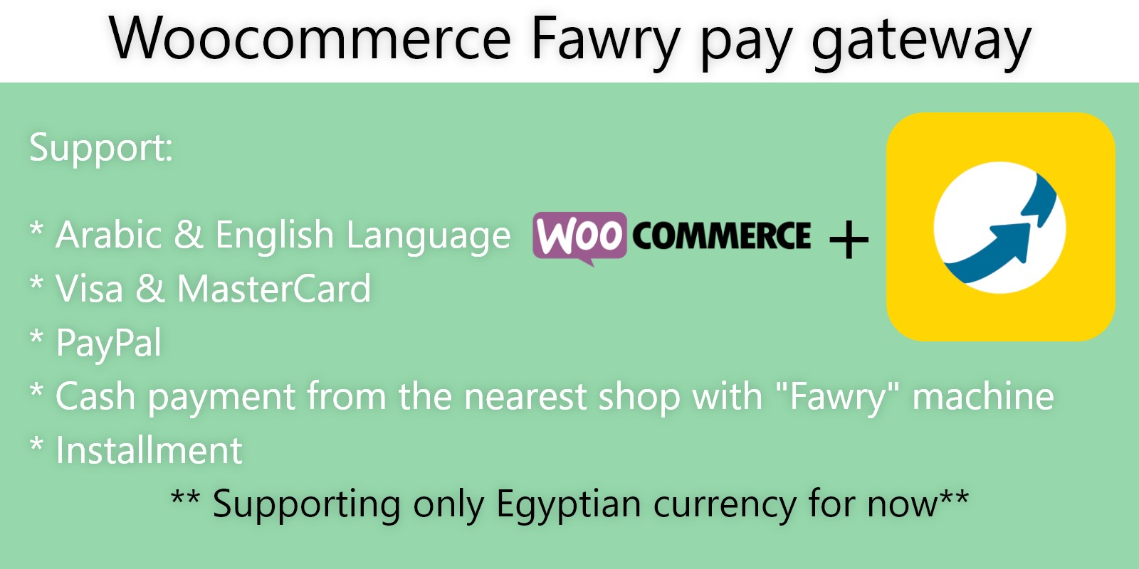 Fawry Pay Gateway For WooCommerce