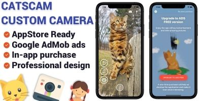 CatsCam - iOS Custom Camera Source Code