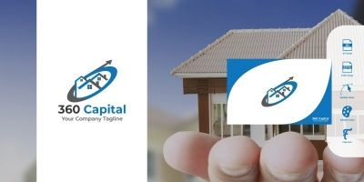 360 Capital Logo Template
