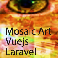 Multi User Mosaic Art  With VueJS And Laravel PHP
