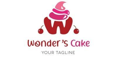 Cup Cake Logo Design