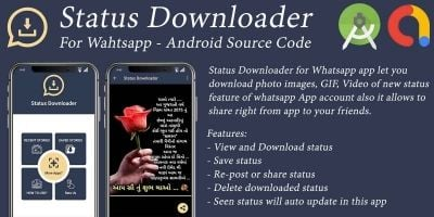 Status Downloader For Whatsapp - Android Code