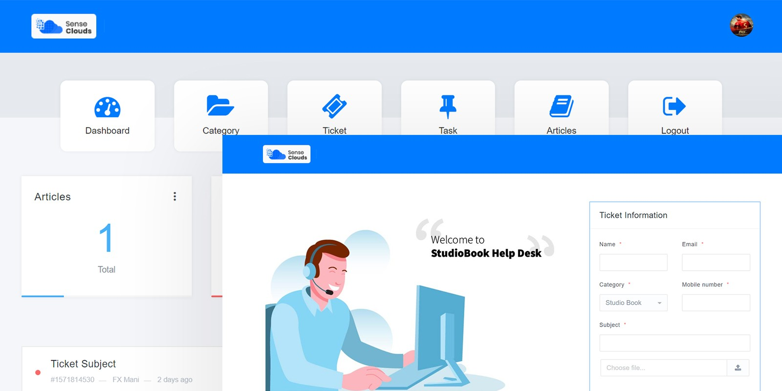 Sense Support - Support And Task System Software