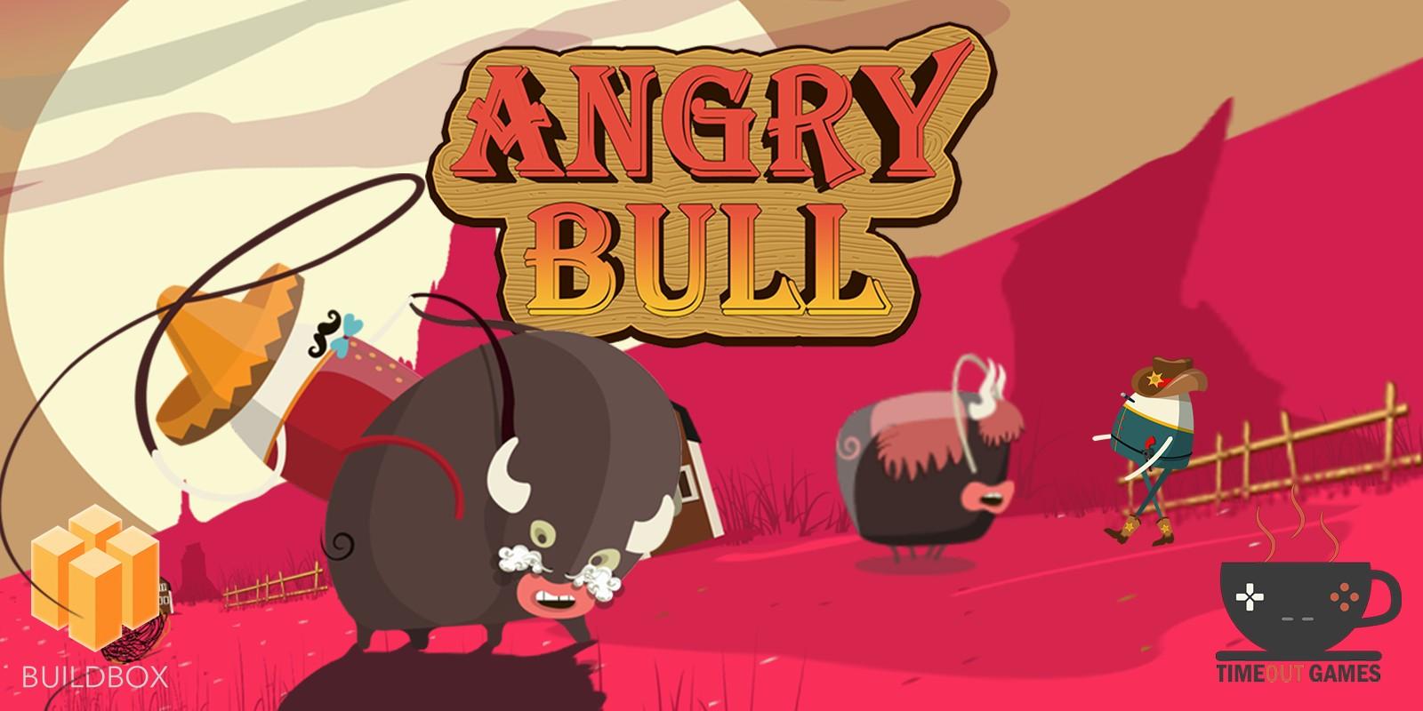Angry Bull - Full Buildbox Game