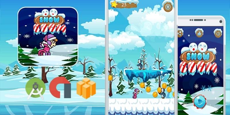 Snow Boom Eskimo Run Buildbox Template