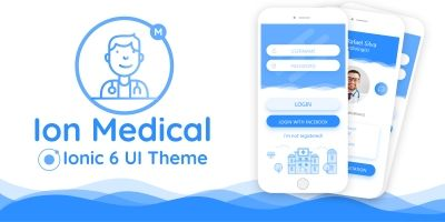 Ion Medical - Ionic 4 Medical Center UI Theme