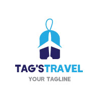 Sale Tag Travel Logo