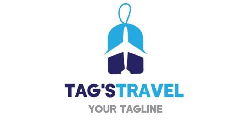 Sale Tag Travel Logo