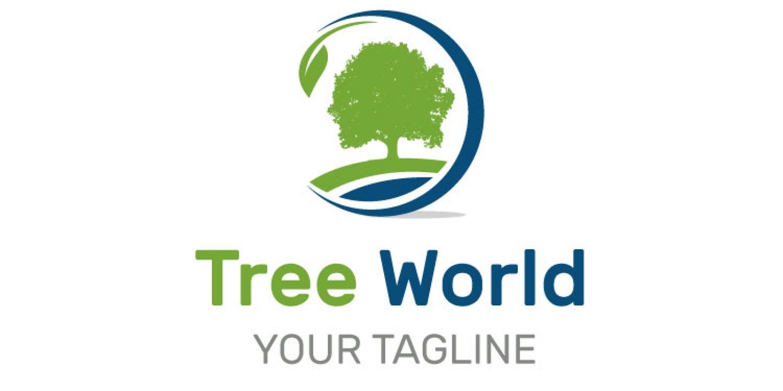 Tree Circle Logo Design