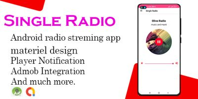 Single Radio Android Template