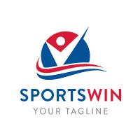 Win Circle Wave Logo