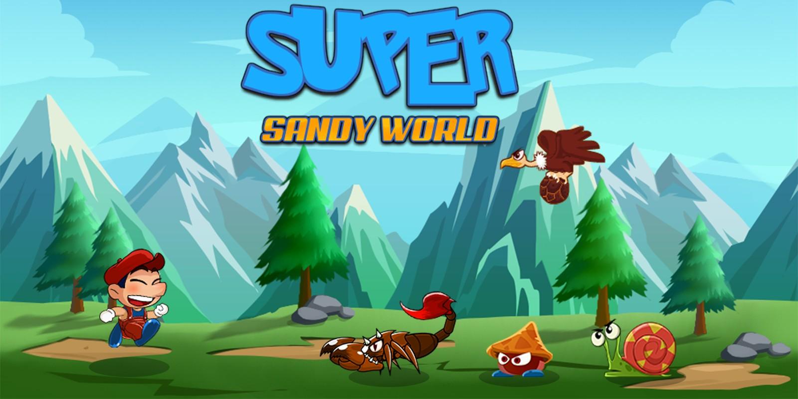 Super Sandy World Complete Unity Game