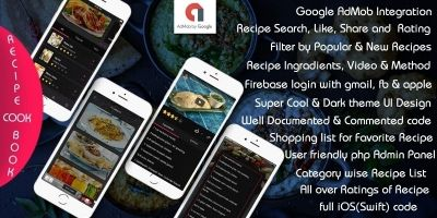 My Recipe - iOS App Template