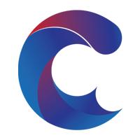 Letter-C typography design vector
