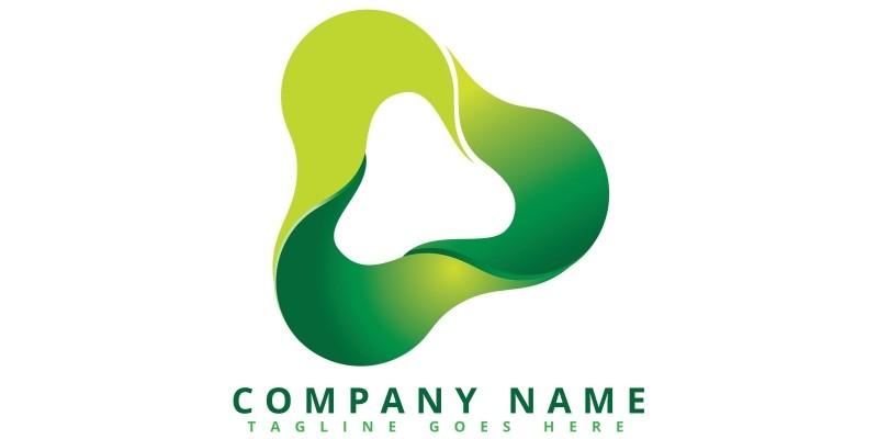 3D Loop Logo Design
