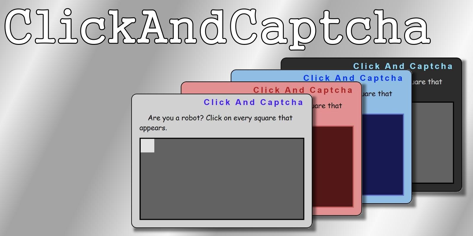 clickAndCaptcha Script