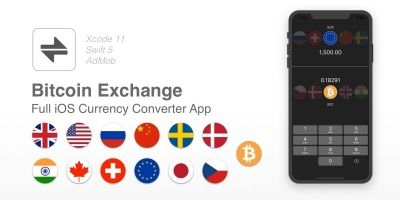 Bitcoin Exchange - iOS Currency Converter App
