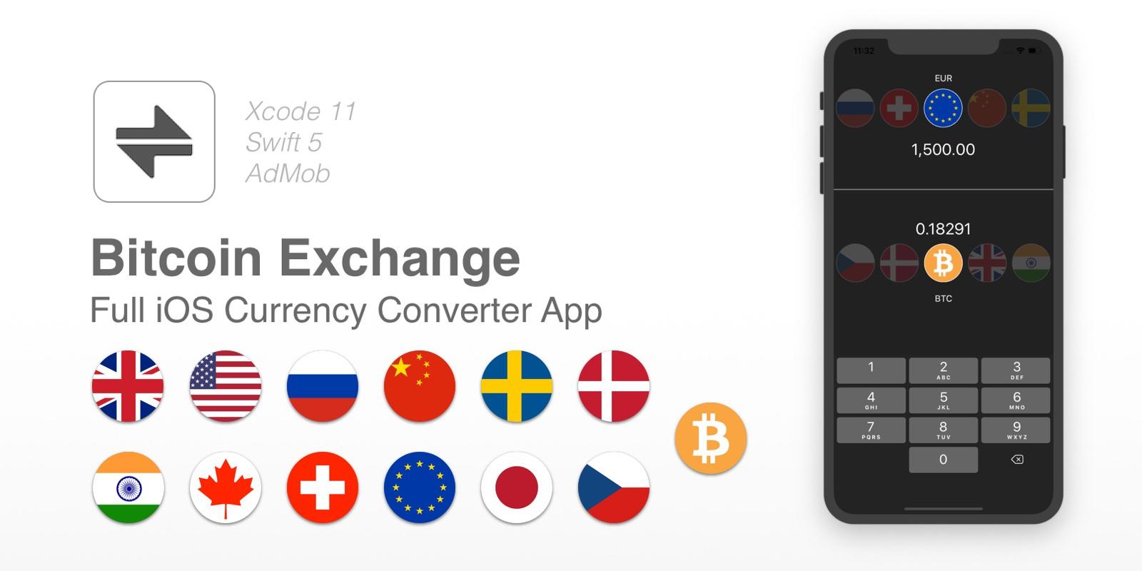 Bitcoin Exchange - iOS Currency Converter App