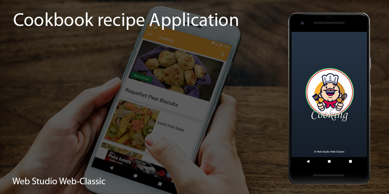 Culinary Recipe Book - Android Source Code