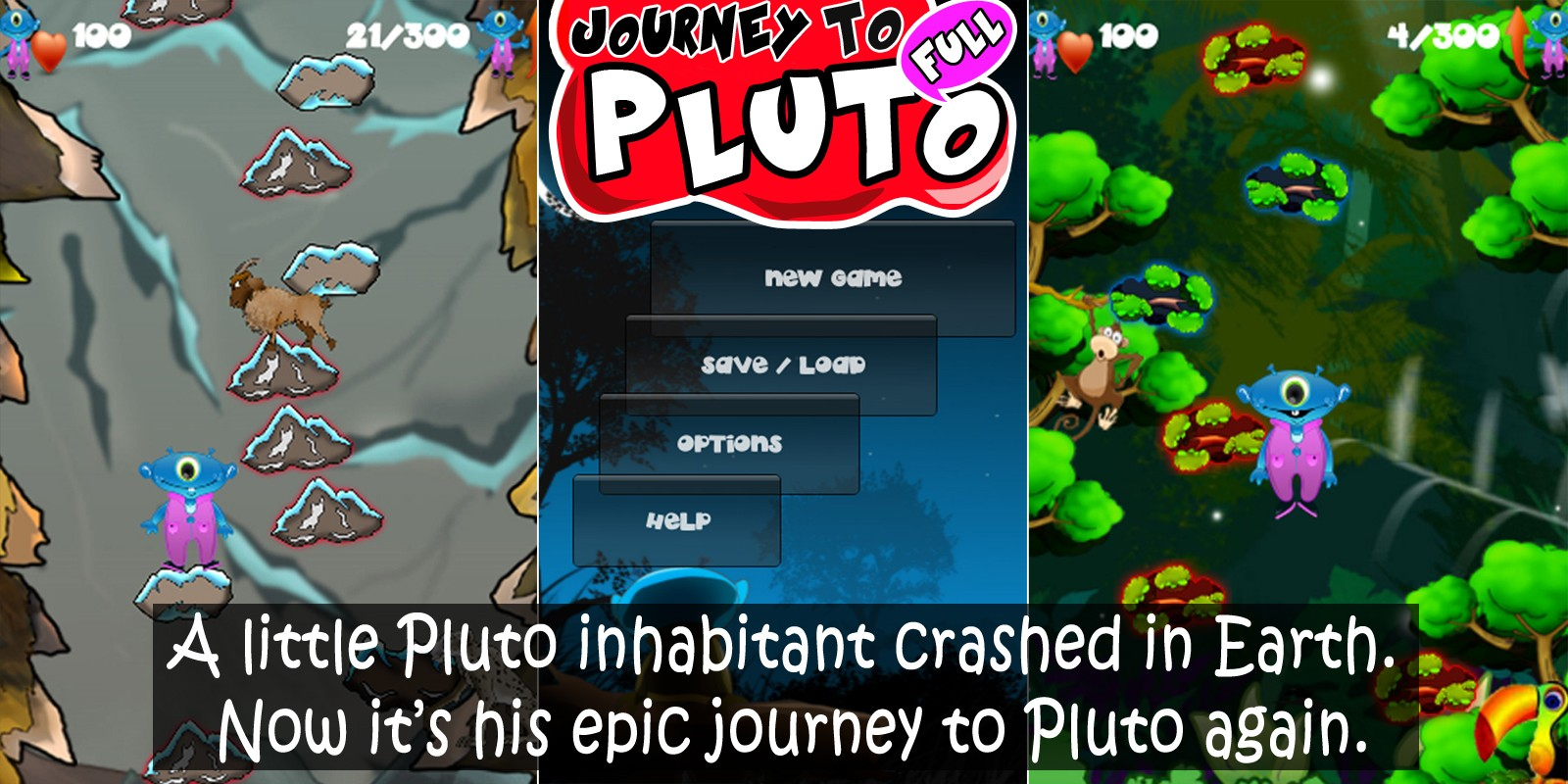 Journey To Pluto - Complete Unity 3D Game