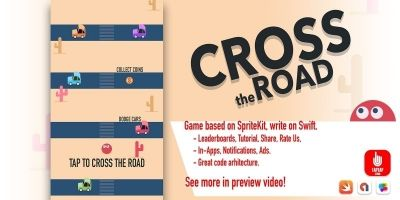 Cross The Road iOS Source Code