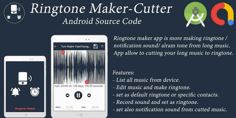 Ringtone Maker - Android Source Code