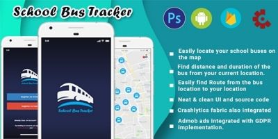 School Bus Tracker Android Source Code