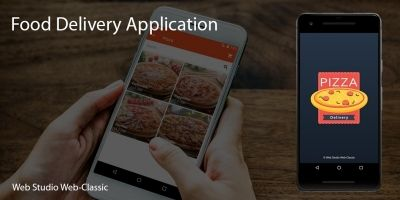 Food Delivery - Android App Source Code