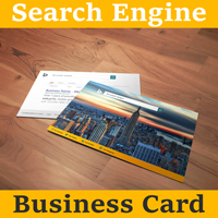Search Engine Business Card
